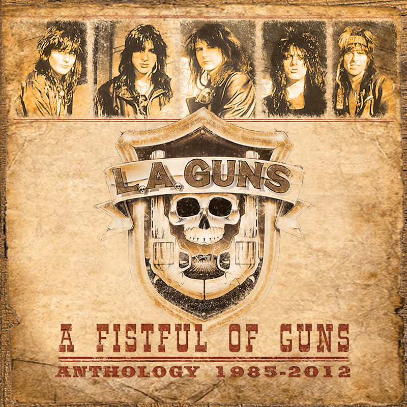 L.A. Guns - A Fistful of Guns - Anthology 1965-2012 (2 CD)