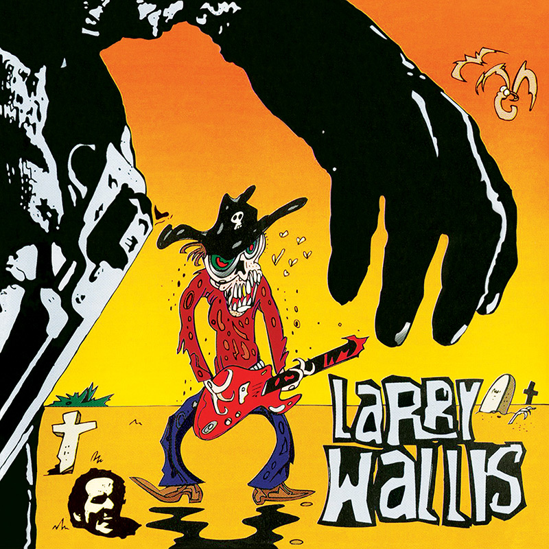 Larry Wallis - Death In The Guitarfternoon (CD)