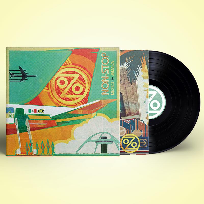 Ozomatli - Non-Stop: Mexico to Jamaica (LP)
