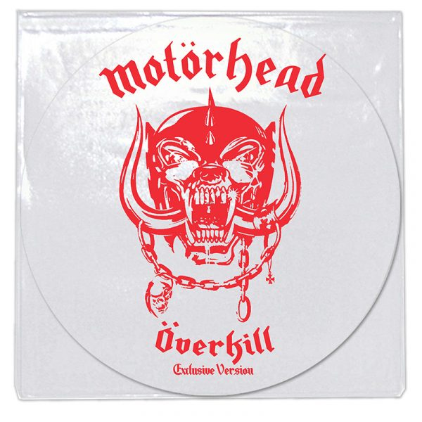 Motörhead - Overkill (Limited Edition White LP)