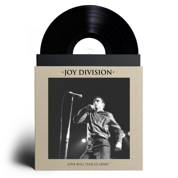 Joy Division - Love Will Tear Us Apart (Cover on Limited Edition Canvas Bag - LP)