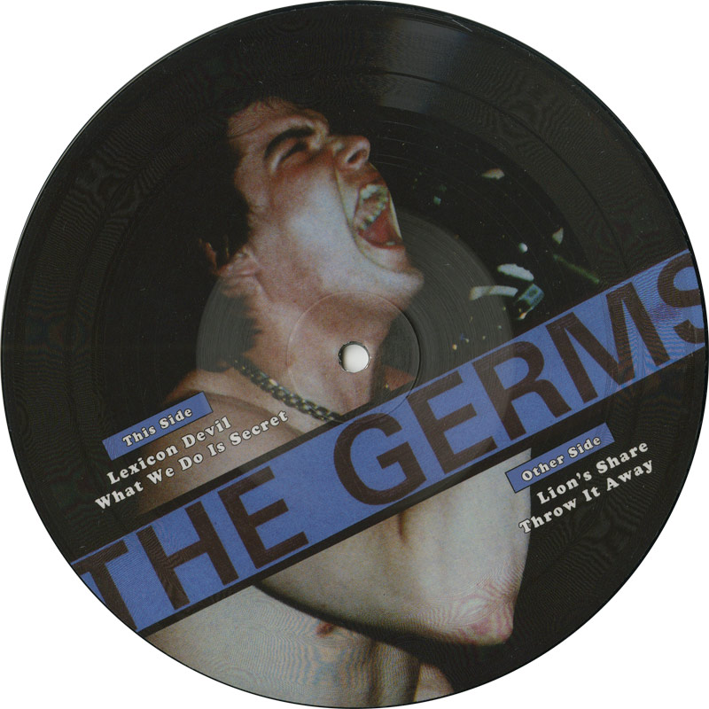 "Germs - O (Limited Edition Record Store Day 7"")"