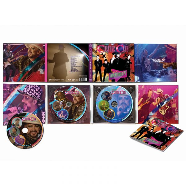 Culture Club - Live at Wembley World Tour 2016 (CD+DVD+ Blu-Ray)