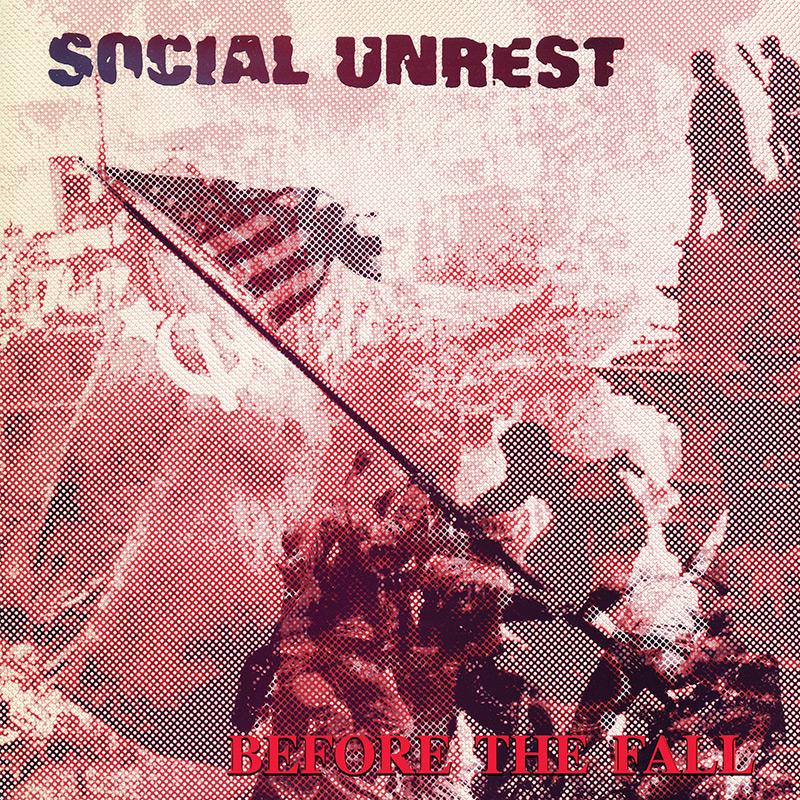 Social Unrest - Before The Fall (Limited Edition Red LP)