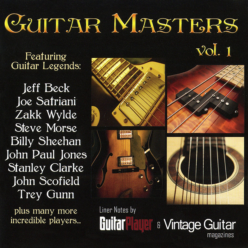 Guitar Masters Vol. 1 (CD)