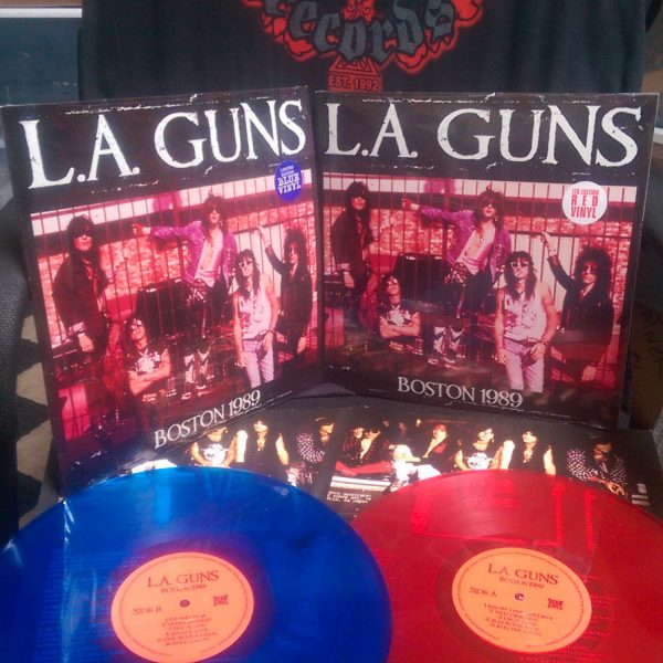 L.A. Guns - Boston 1989 (Limited Edition Colored LP)