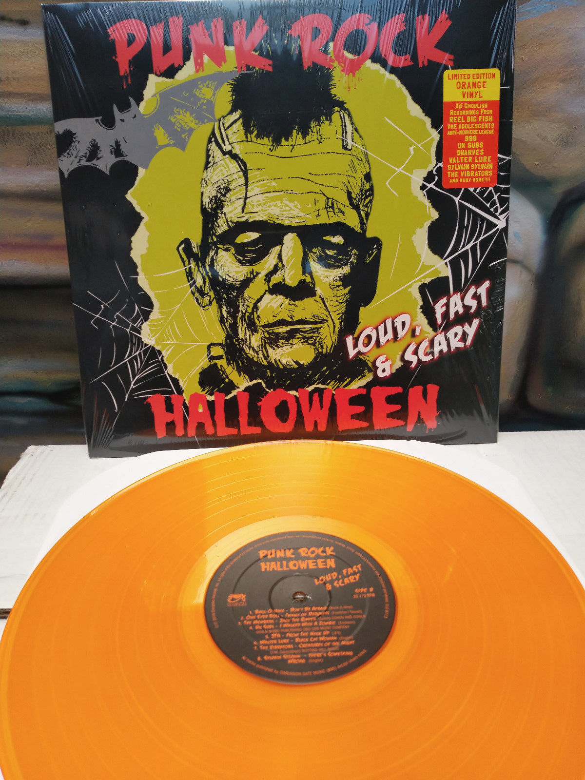punk rock halloween – loud, fast & scary (lp) – cleopatra records store
