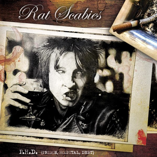 Rat Scabies - P.H.D. (Prison, Hospital, Debt) (LP)