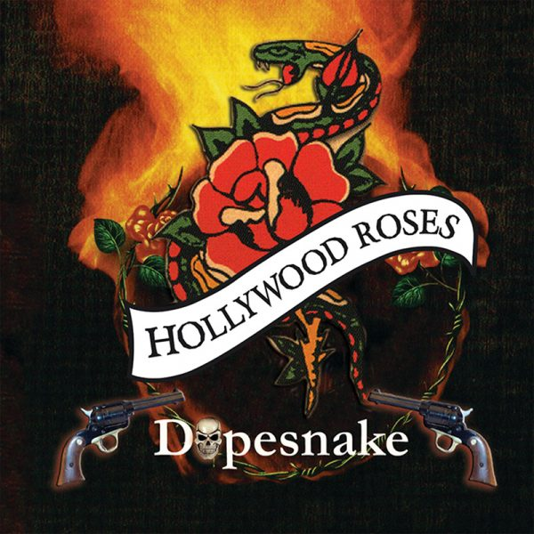 Hollywood Roses - Dopesnake (CD)