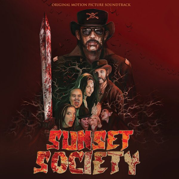 Sunset Society - Original Motion Picture Soundtrack (Limited Edition Red LP)
