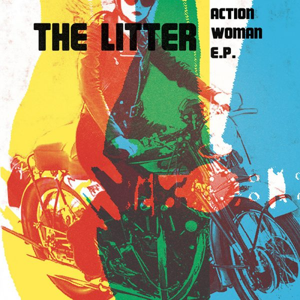 The Litter - Action Woman E.P. (LP)