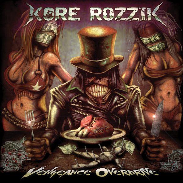 Kore Rozzik - Vengeance Overdrive (CD)
