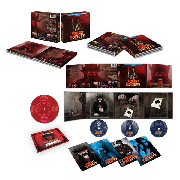 "Sunset Society - Limited Deluxe Edition (CD/DVD/Blu-Ray/7"" + More!)"