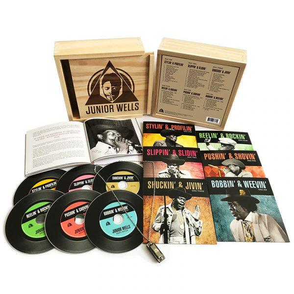 Junior Wells - Box of Blues (6 CD)