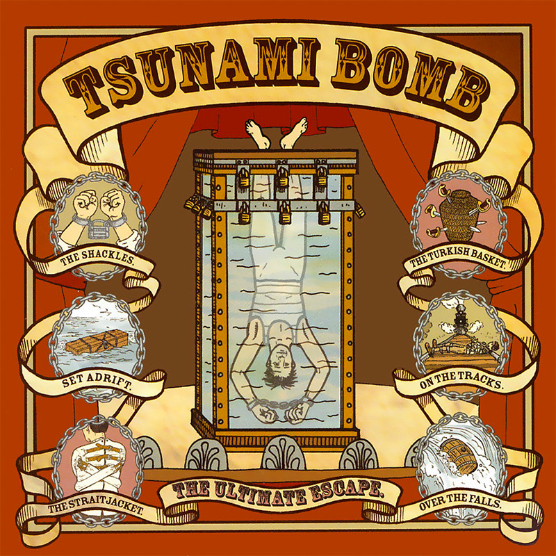 Tsunami Bomb The Ultimate Escape Limited Edition Red Lp