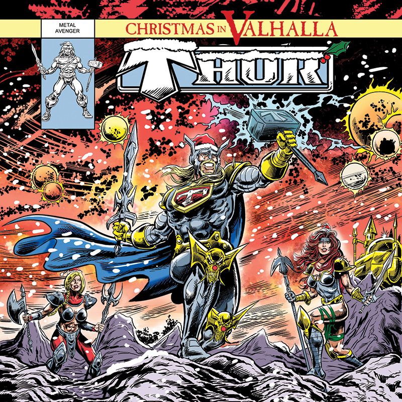 thor christmas in valhalla cd cleopatra records store