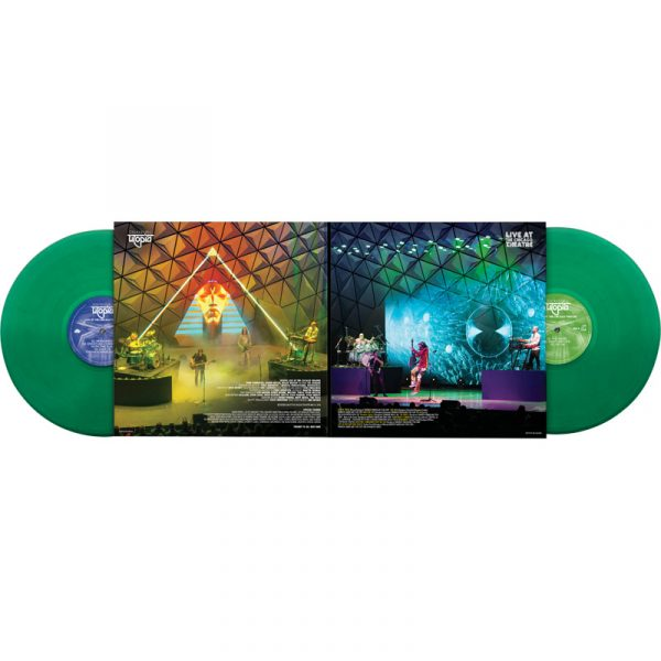 Todd Rundgren's Utopia - Live At Chicago Theatre (Limited Edition Green Double Vinyl)