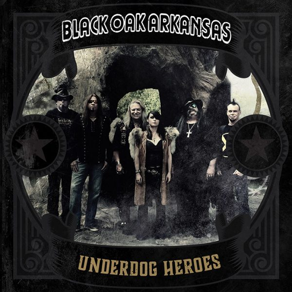 Black Oak Arkansas - Underdog Heroes (Limited Edition Gold Vinyl)