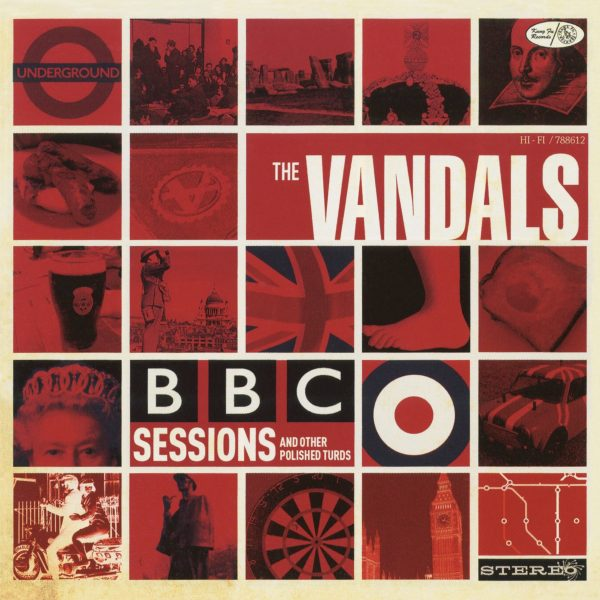 The Vandals - BBC Sessions and Other Polished Turds (Limited Edition Red Vinyl)