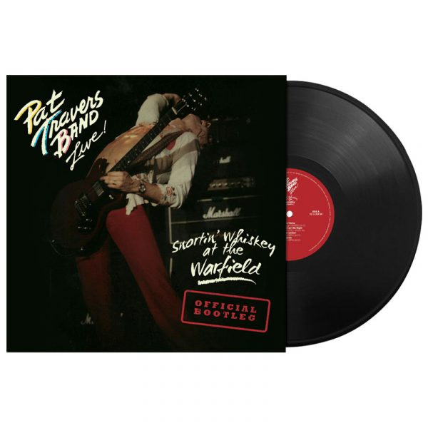 The Pat Travers Band - Snortin' Whiskey At The Warfield (LP)