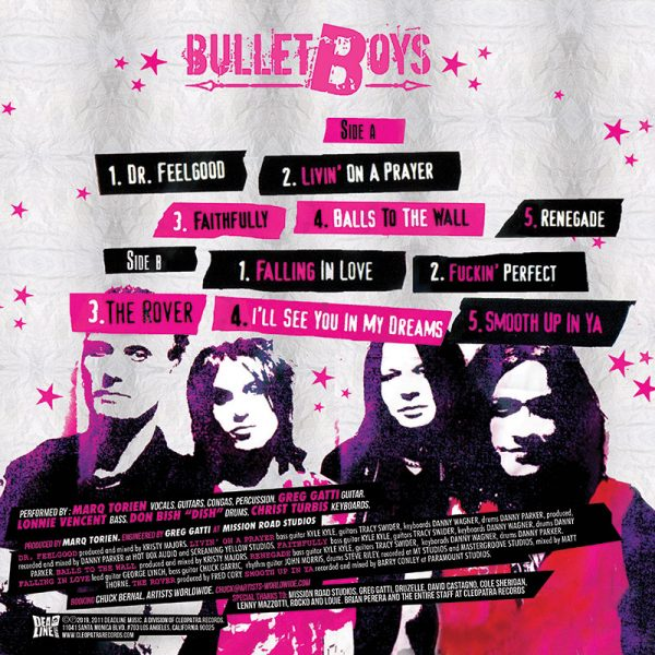 Bulletboys - Rocked & Ripped (LP)