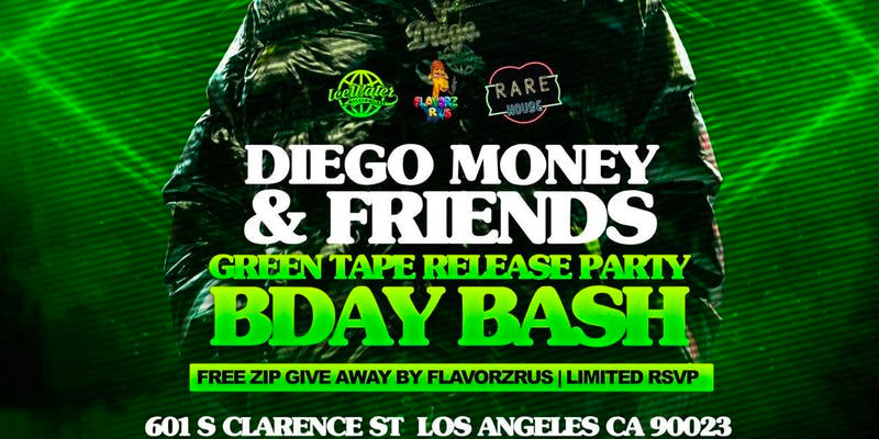 Diego Money Release Party