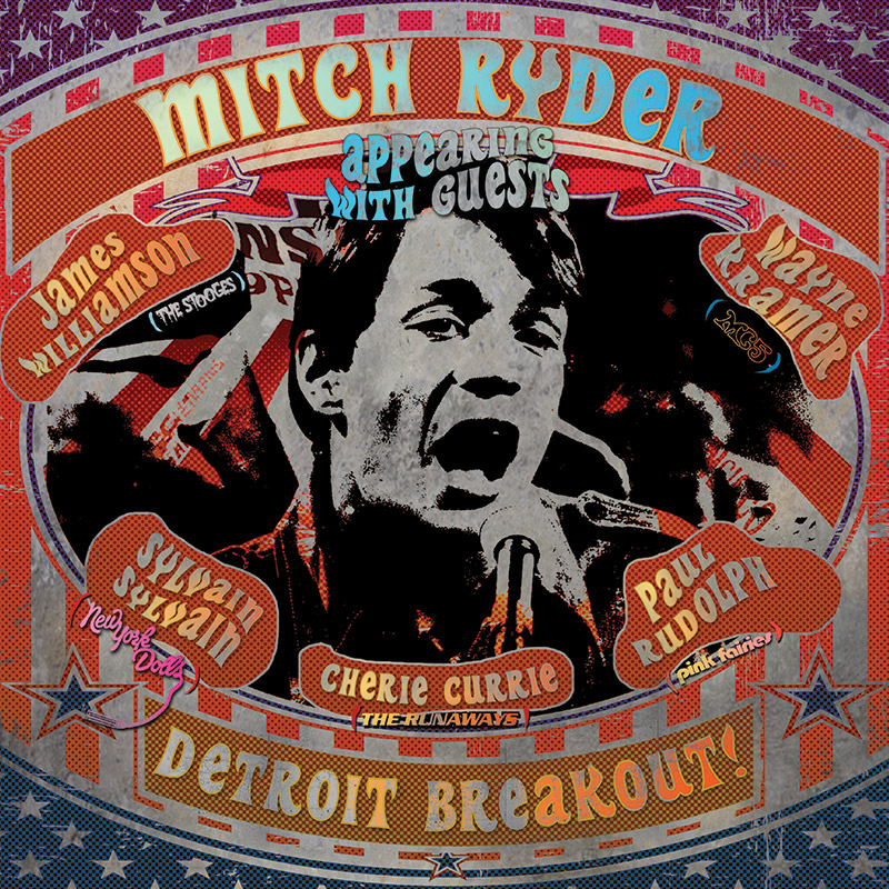 Mitch Ryder Detroit Breakout Limited Edition Red Vinyl