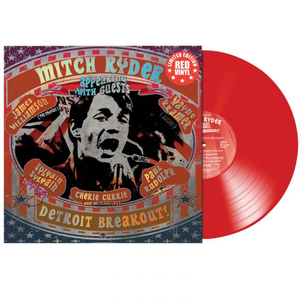 Mitch Ryder - Detroit Breakout! (Limited Edition Red Vinyl)