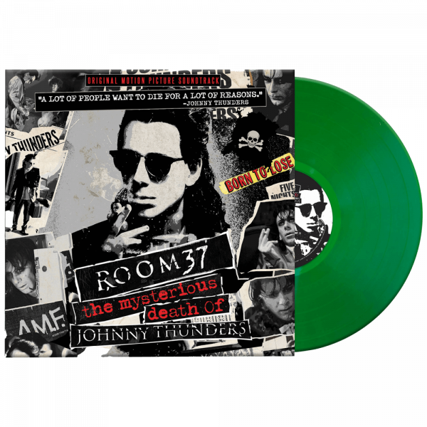 Room 37: The Mysterious Death of Johnny Thunders - Soundtrack (Limited Edition Colored Vinyl)