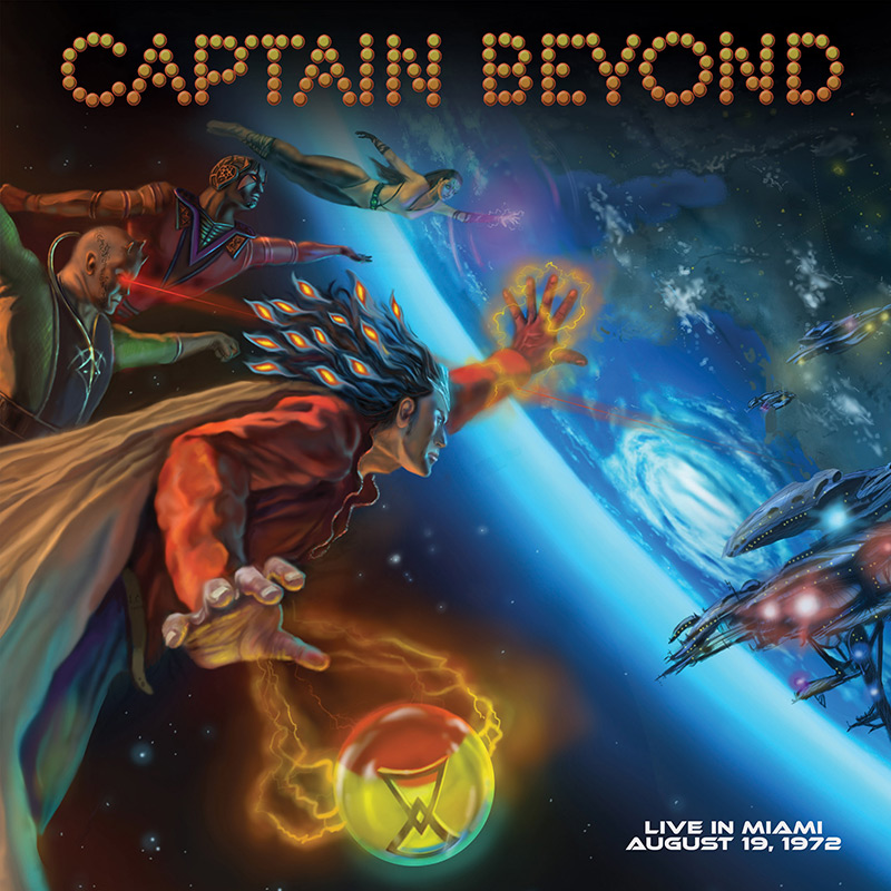 Captain Beyond Live In Miami August 19 1972 Limited Edition Blue Vinyl Cleopatra Records Store