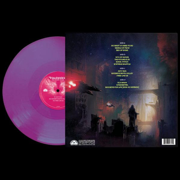 Hawkestrel - The Future Is Us (Limited Edition Colored Vinyl)
