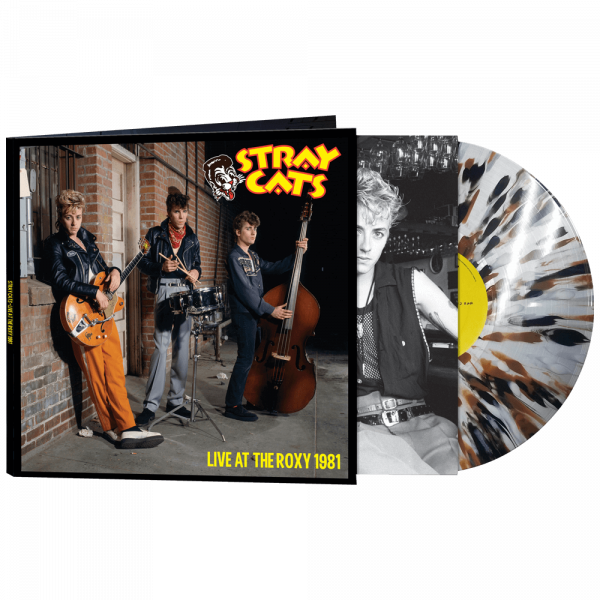 Stray Cats - Live At The Roxy 1981 (Limited Edition Splatter Vinyl)