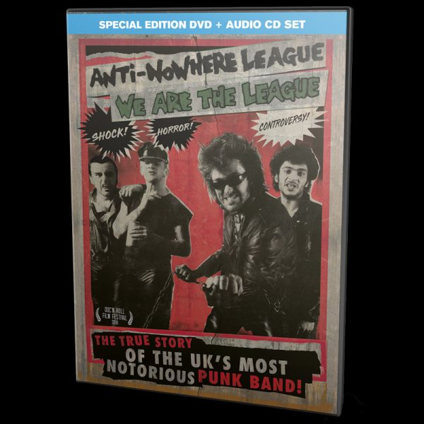 Anti-Nowhere League - We Are the League (Special Edition DVD+CD)