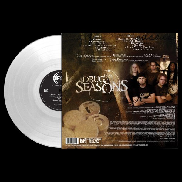 F5 - A Drug For All Seasons (Limited Edition White Vinyl)
