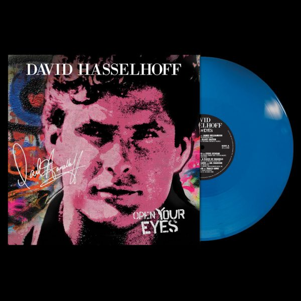 David Hasselhoff - Open Your Eyes (Limited Edition Colored Vinyl)