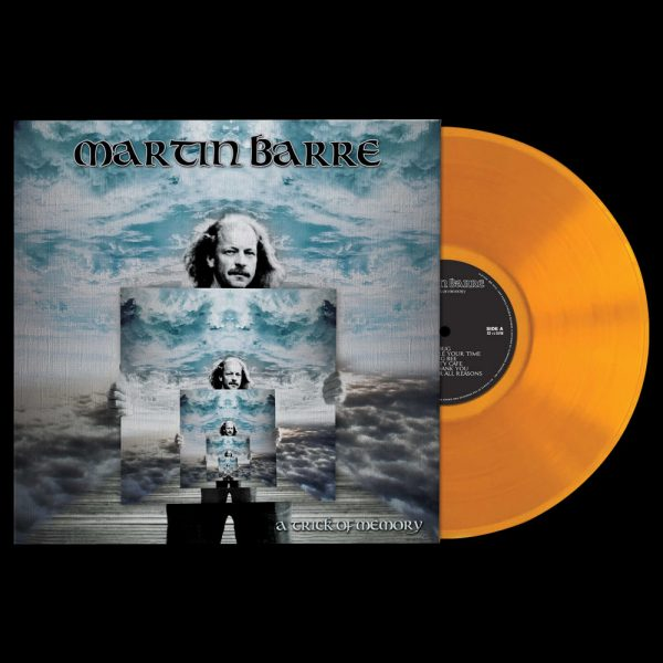Martin Barre - A Trick of Memory (Limited Edition Orange Vinyl)