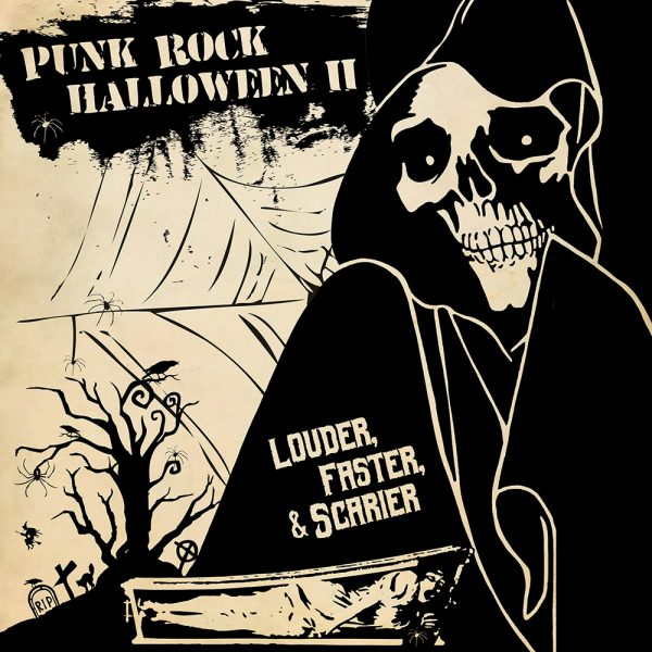 Punk Rock Halloween II - Louder, Faster & Scarier (Limited Edition Orange Vinyl)