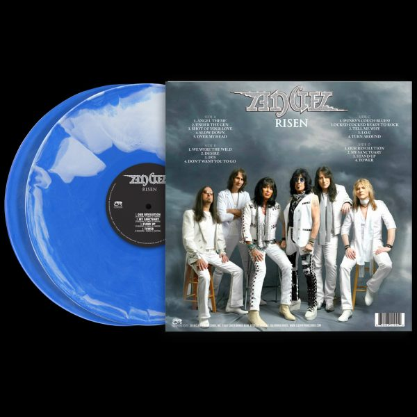 Angel - Risen (Limited Edition Swirl Vinyl)