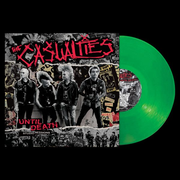 The Casualties - Until Death - Studio Sessions (Limited Edition Colored Vinyl)