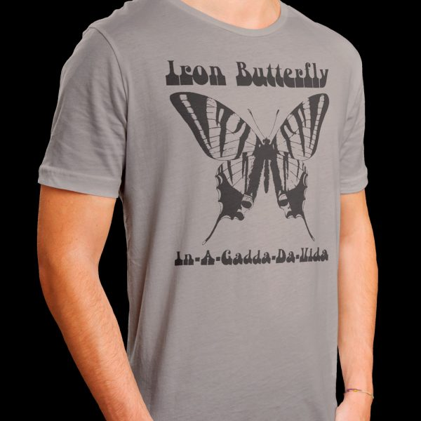 Iron Butterfly - In-A-Gadda-Da-Vida (Grey Shirt)