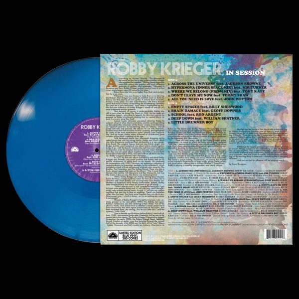 Robby Krieger - In Sessions (Limited Edition Blue Vinyl)