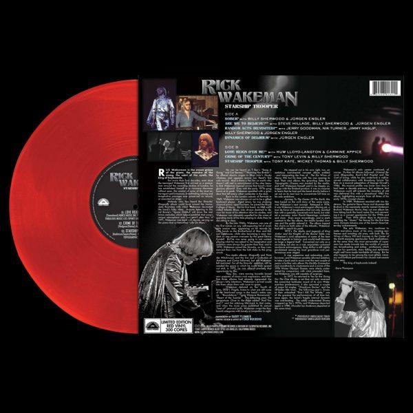 Rick Wakeman - Starship Trooper (Limited Edition Red Vinyl)