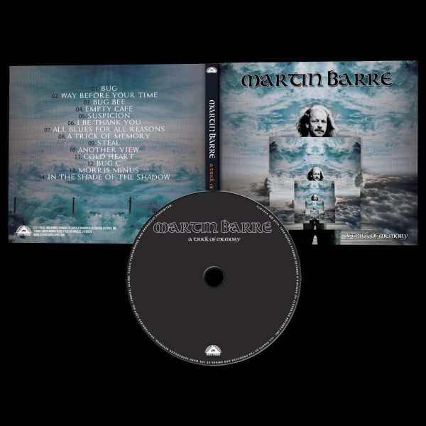 Martin Barre - A Trick of Memory (CD)