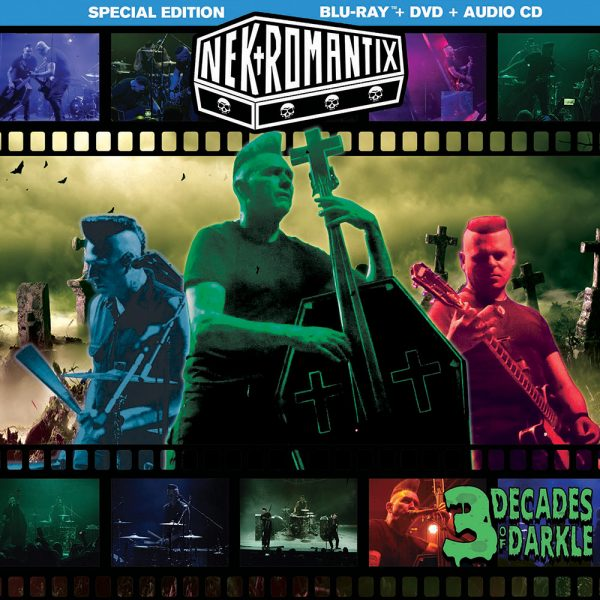 Nekromantix - 3 Decades of Darkle (Blu-Ray + DVD + CD)
