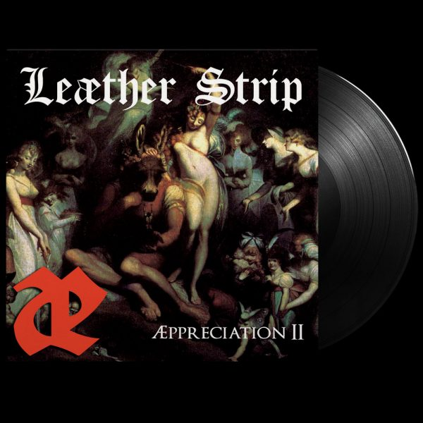 Leæther Strip - Æppreciation II (Limited Edition Black Vinyl)