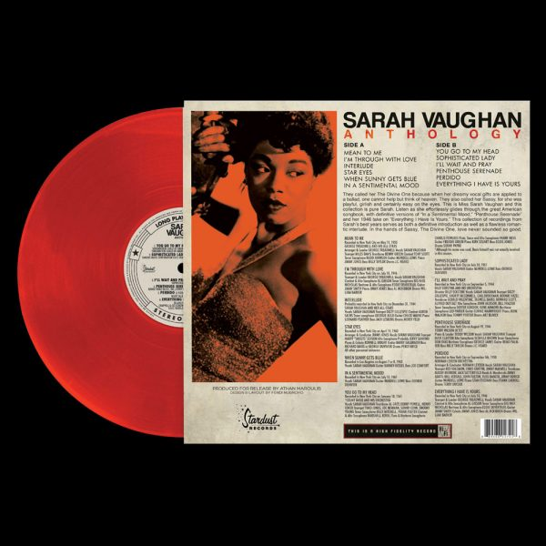 Sarah Vaughan - Anthology (Limited Edition Red Vinyl)