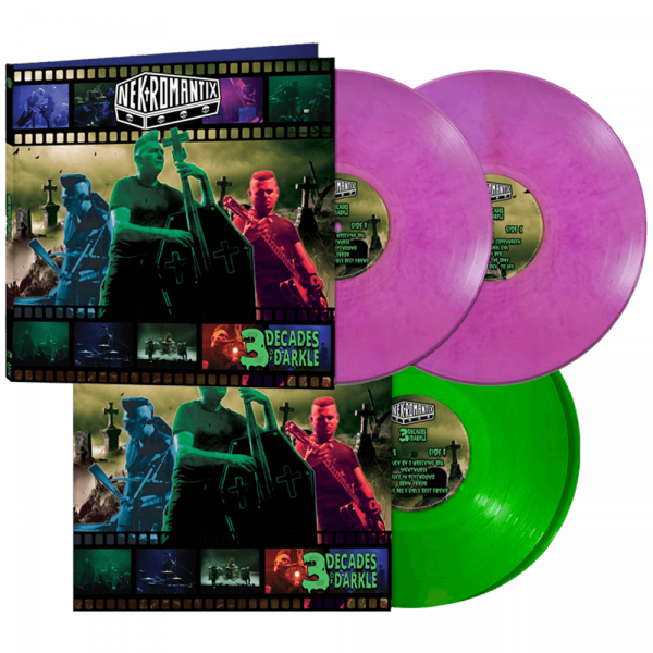 Nekromantix - 3 Decades of Darkle (Limited Edition Colored Double Vinyl)