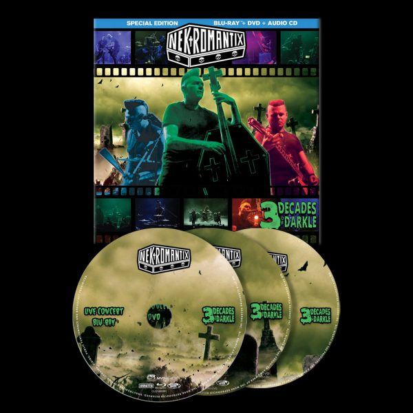 Nekromantix - 3 Decades of Darkle (Blu-Ray + DVD + CD)