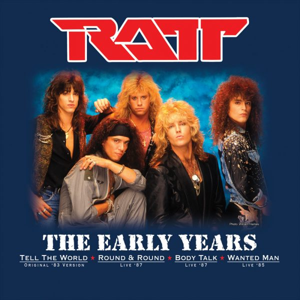 Ratt - The Early Years (Limited Edition Blue Vinyl)