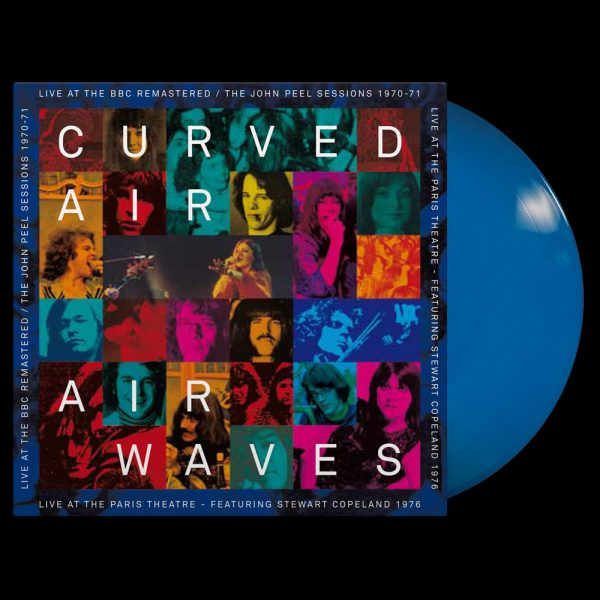 Curved Air - Air Waves - Live at the BBC (Limited Edition Blue Vinyl)